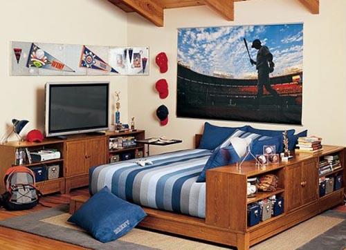 Preteen Boys Bedroom Decorating Ideas